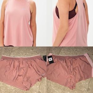 Nike Plus Size Running Top/Shorts Bundle NWT